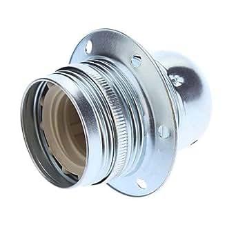 N5 E27 galvanisé douille d'ampoule Support de lampe de base