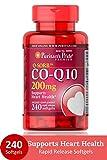 Puritan's Pride Q-SORB Co Q-10 200 mg-240 Rapid Release Softgels