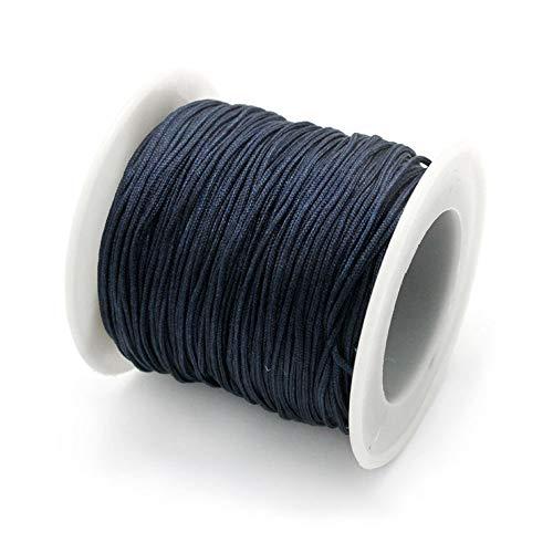 ruby- Schnur Makramee 1.0mm 45Meter dunkelblau