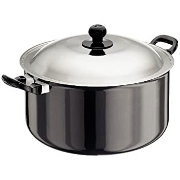 Hawkins Futura Hard Anodised Stewpot with Lid, 8.5 Litres