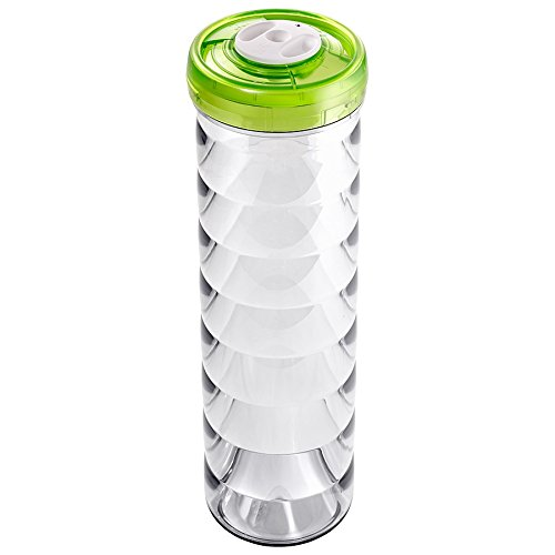 Zepter VacSy Plastic Canister D11x33,5CM 2.25L Green