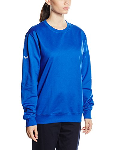 Trigema Damen, Sweat-Shirt Mixte bleu (royal 049)