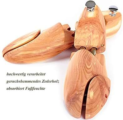 TIMELEOS Schuhspanner Holz Zedernholz Lotusholz für Sneaker Damen Herrenschuhe Schuhleisten Schuhdehner Schuhweiter