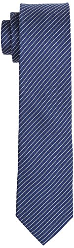 Calvin Klein Herren Krawatte Slim 6.4 cm Blau (Navy 411)