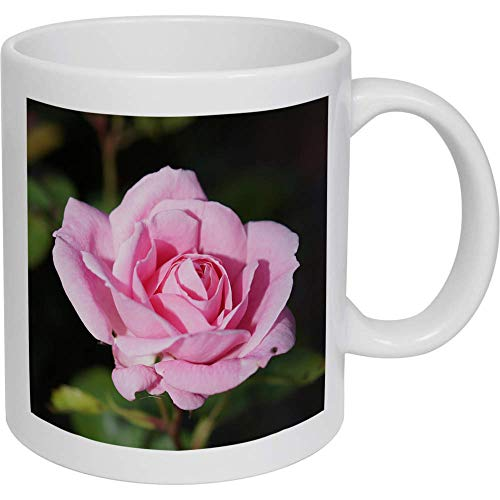 Azeeda 320ml 'Pinke Rose' Kaffeetasse / Becher (MG00003179)