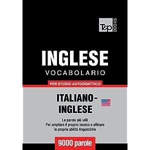 Vocabolario Italiano-Inglese Americano per studio