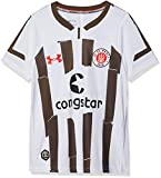 Under Armour FC St. Pauli Auswärts Replica Kinder Trikot, White (101), YSM