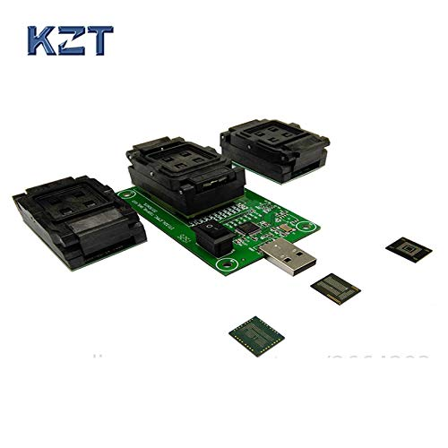 Hynix Chip (Ochoos EMMC153 169 EMCP162 186 EMCP221 Series Socket 3 Funktionen in 1 USB Interface PCB Board Data Recovery Programming and Test Chips)