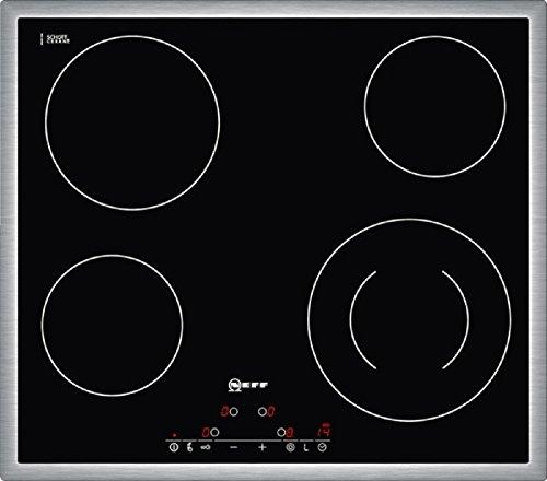 Neff TD 1341 N Kochfeld Elektro / CERAN®/Glaskeramik / 58.3 cm / 4 HighSpeed-Heizkörper / schwarz