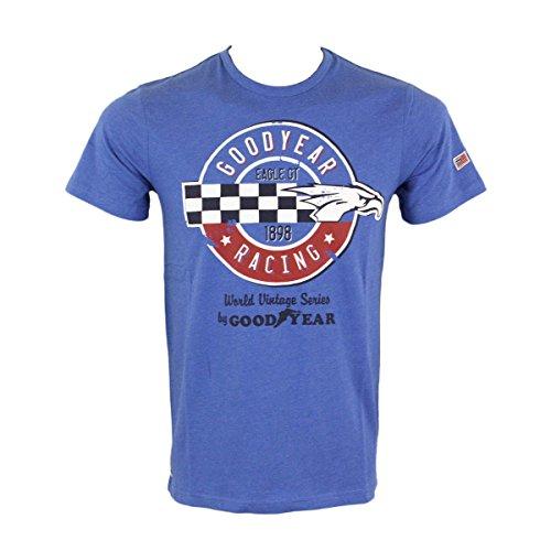 charlotte-goodyear-t-shirt-homme-bleu-normale-bleu-xl
