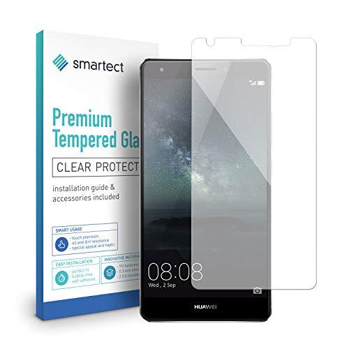 smartect Panzerglas für Huawei Honor 6X - Bildschirmschutz mit 9H Härte - Blasenfreie Schutzfolie - Anti Fingerprint Panzerglasfolie