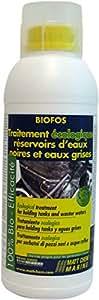 Matt Chem 253M Biofos Traitement écologique de réservoir d'eau Noir/Gris