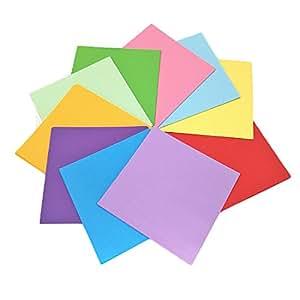 Antner 200 feuilles papier origami double face 15 x 15 cm for Fourniture bureau papier