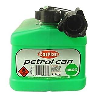 CarPlan Petrol Can 5 Litre Unleaded (Green)