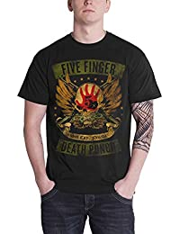 Five Finger Death Punch Shirt Locked & Loaded Band Logo Official Mens Black