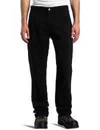 Carhartt Pantalon en Treillis Armure toile lavà - Noir - Washed Twill Dungaree