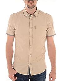GUESS Ss Peached Shirt, Camisa para Hombre