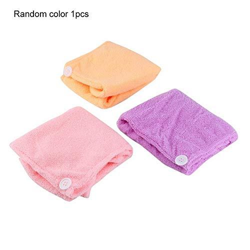 Knossos Mikrofaser nach der Dusche Haartrocknung Wrap Handtuch Quick Dry Haar Hut Mütze Turban