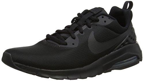 Tops High Laufschuhe Nike (Nike Jungen Air Max Motion LW (GS) Gymnastikschuhe, Schwarz (Black/Black/Black 001), 38.5 EU)