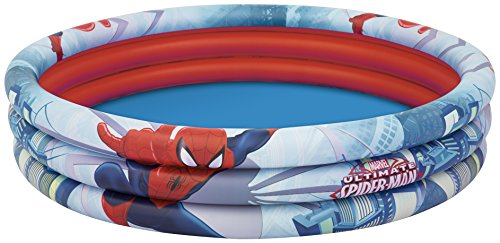 Bestway Spiderman Three Ring Inflatalbe Paddling Pool - 60 x 12 Inches