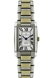 Dreyfuss Womens Quartz Watch, Analogue Classic Display and Stainless Steel Strap DLB00052/01