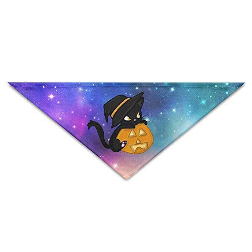 Gxdchfj Halloween Wizard Cat Baby Pet Dog Scarves Puppy Triangle Bandana Bibs Triangle Head Scarfs Accessories