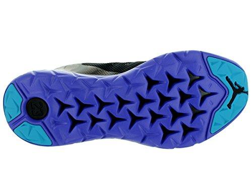 Nike Jordan Flight Runner 2, Chaussures de Running Entrainement Homme, Noir, Taille Noir / Bleu (Black / Blue Lagoon-Brght Cncrd)