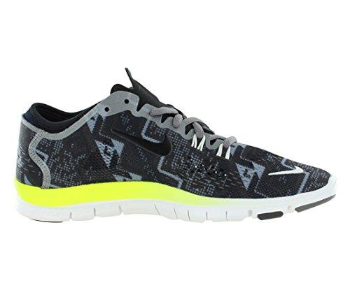 Nike Free 5.0 Print, Chaussures de running entrainement femme BLACK/LIGHT ASH/MEDIUM ASH/IVORY