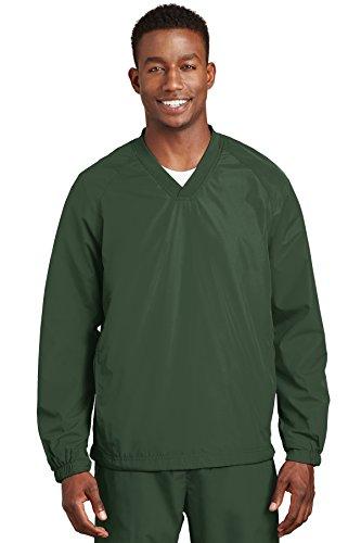 Sport-tek Herren Raglan (Sport-Tek Men's Raglan Shirt mit V-Ausschnitt,)