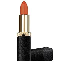 LOreal Paris Color Riche Matte Addiction Lipstick, Hype, 4.8g