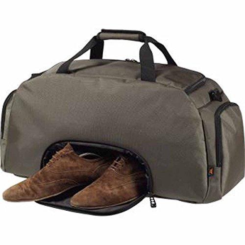 HALFAR-Borsa da viaggio-Borsa da sport, con scompartimento separato per 1809789-Scarpe Nero nero 66x32x25cm Gris taupe