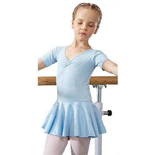 stik praxis match kleidung tanz mädchen kleid kindergarten kinder prinzessin tulle party kinder bühnen studenten gruppe team leistung kostüme , 9# , 100cm (Top-100-gruppe Halloween-kostüme)