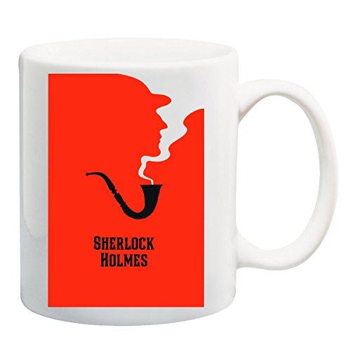 Sherlock Holmes Blood Pipe T-Shirt Mug (Pipe Shirt Show)
