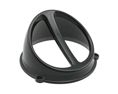 Lüfterspoiler Air Scoop schwarz - universal (Seitenverkleidung Scoop)