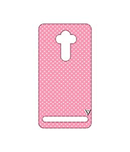 Vogueshell Dotted Pattern Printed Symmetry PRO Series Hard Back Case for Asus Zenfone 2 Laser