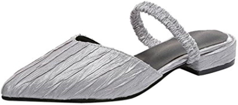 8043a2001ecc et 10047; cheng et 10047; 10047; 10047; les femmes des sandales, vintage  femmes plissée croûton anti dérapage glisse sur un orteil sandales flip  flop ...
