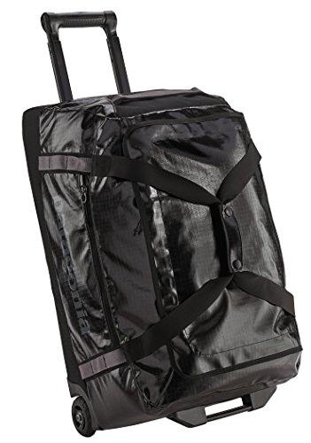 Patagonia Black Hole Wheeled Duffel Reisetasche, 45 cm, 70 liters, Schwarz (Negro)