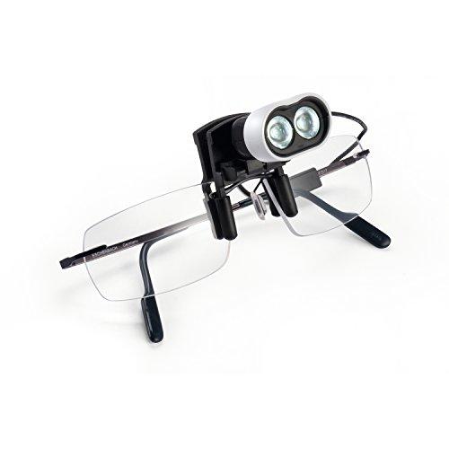 Eschenbach Eschenbach LED Licht der Kopf mit den Clip Brille 160422