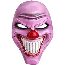 Crazy Genie maschera di Classe Collection Masquerade Costume Party Cosplay Resina (Purple Clown)