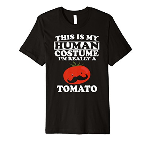 (This Is My Echthaar Kostüm Ich bin wirklich ein Tomate T-Shirt Funny)