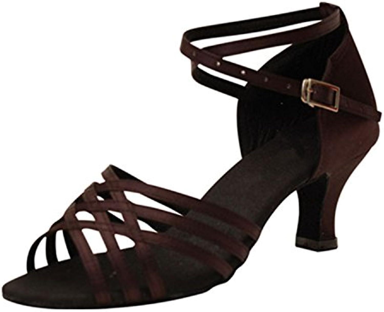 YFF Regalo donne danza scarpe ballo latino ballo tango danza scarpe 6CM | A Primo Posto Tra Prodotti Simili  | Uomo/Donna Scarpa