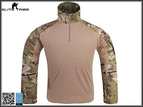 Menschen Militär Paintball Kriegsspiel Oberteile Kampf Gen3 Taktisch Hemd Multicam MC (XL)