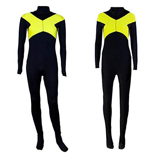 YXRL X-Men Schwarz Phoenix COS Kleidung X Männer Team Uniformen Strumpfhosen Cosplay Anime Show Kostüm Black-XXL