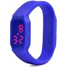 SODIAL(R) Memoria USB Flash Drive Disco U 3.7GB Reloj LED Multifuncion Impermeable