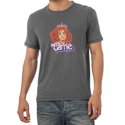 NERDO - Carrie - Herren T-Shirt Grau