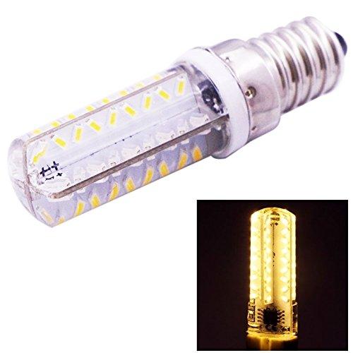 XHD-Beleuchtung E14 3.5W weißes Licht 200-230LM 72 LED SMD 3014 Mais-Glühlampe, justierbare Helligkeit, Wechselstrom 220V/110V (SKU : S-LED-6502WW) (Halogen-licht Justierbares)