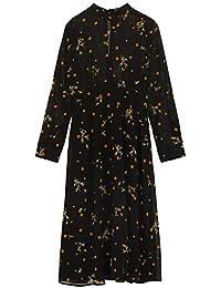 ea2a1477 Zara Women's Floral and Polka dot Print Dress 8499/217