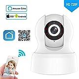 720P cámara de Seguridad inalámbrica Smart Life casa WiFi Cámara de vigilancia de la Red de Apoyo Amazon Alexa Echo Google Home
