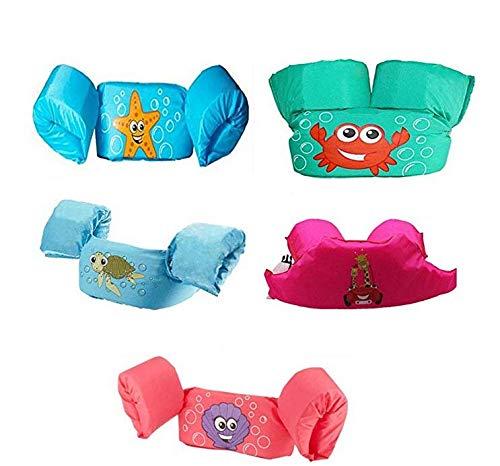 Schwimmflügel für Kinder und Kleinkinder von 2-6 Jahre, 15-30kg, Schwimmhilfe mit verschiedenen Designs für Jungen und Mädchen (8)