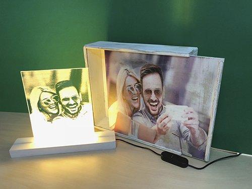 LAMPARA Personalizada con TU Foto